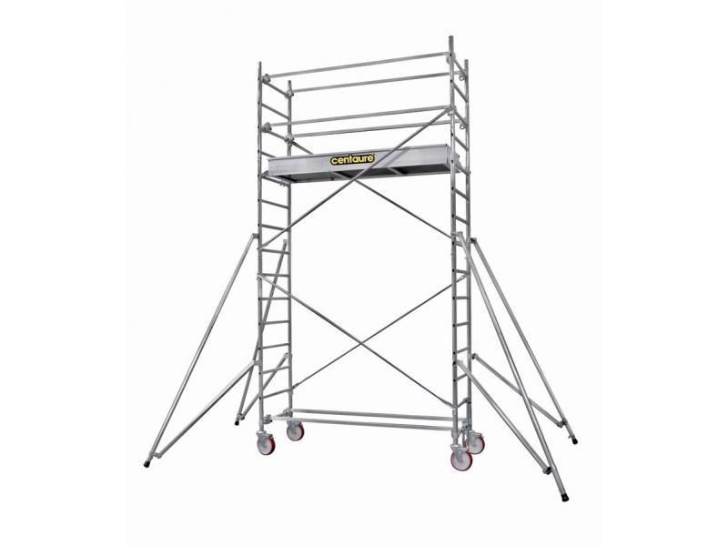 Travaux en hauteur chafaudage roulant acier galvanis ou aluminium - Location echafaudage roulant ...