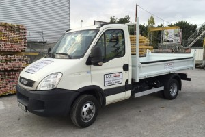 Camion-benne-3.5T-iveco